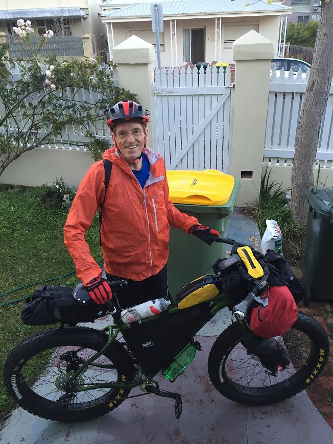 Andrew - Holland Track Ride - September 2016