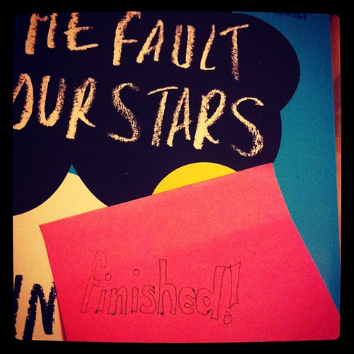 Finished #books #reading #2012 @realjohngreen