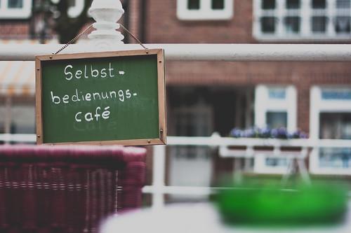 café sign