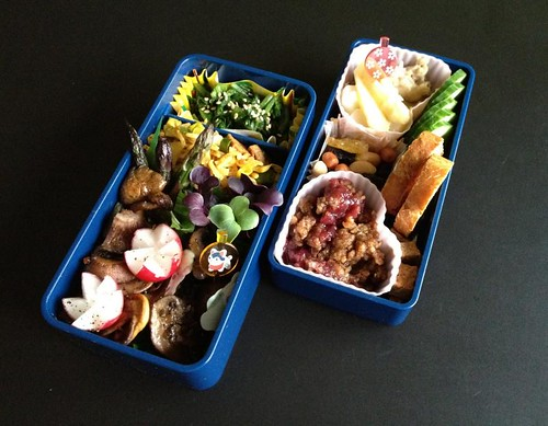 Mushroom Bento (11-05-2012)