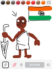 GANDHI, Draw Something App