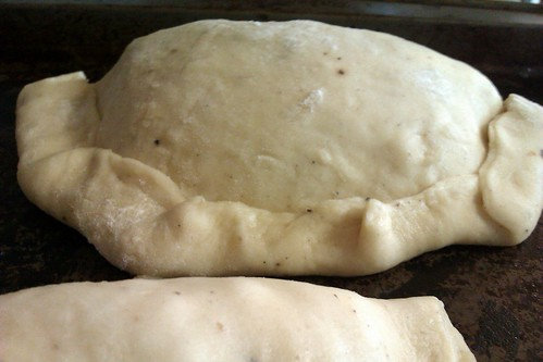 Chicken Empanada before baking
