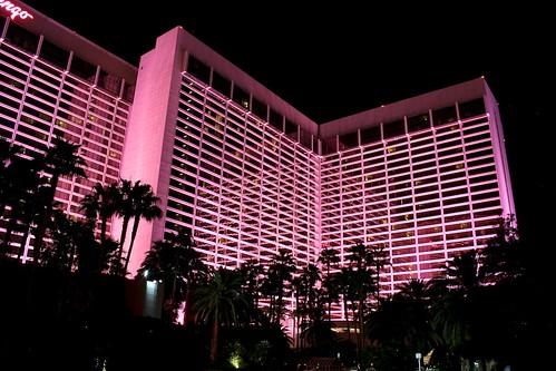 Flamingo Hotel at Night_8707