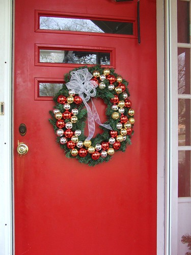 Ornament Wreath (pottery barn copy)