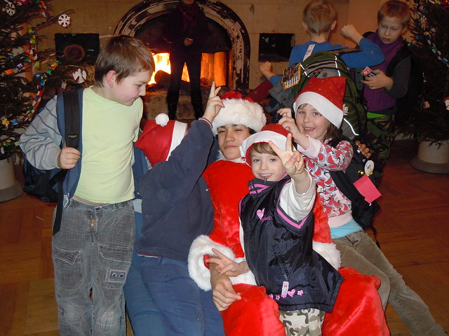 Santa Alex was very popular