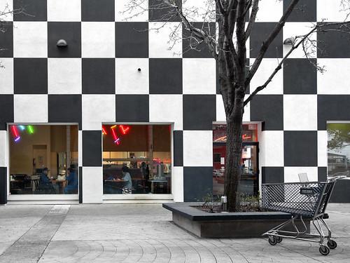 shopping mall on a january monday (365-17)