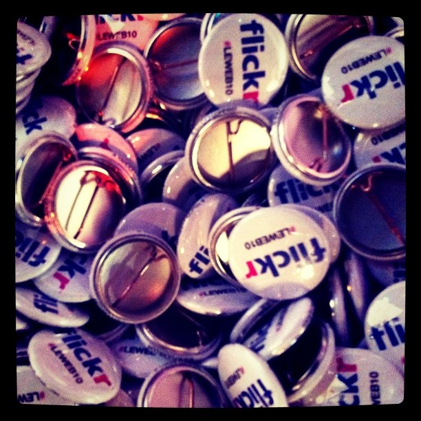 Flickr + LeWeb = awesome. Big bowl of buttons…
