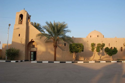 The mosque, Hassan Fathy village