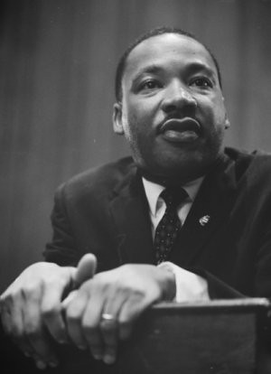 Martin Luther King, Jr. 1964 (source: Library of Congress)