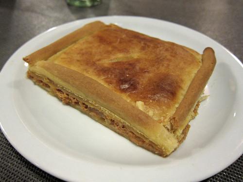 Galician Tuna Empanada Slice
