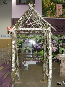 gothic high gable wedding arch