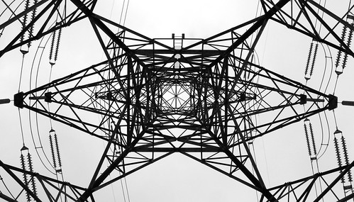 Under an Electric Giant