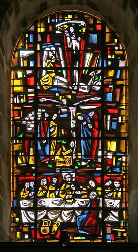 Crucifixion, St. Gildas des Bois by TheRevSteve