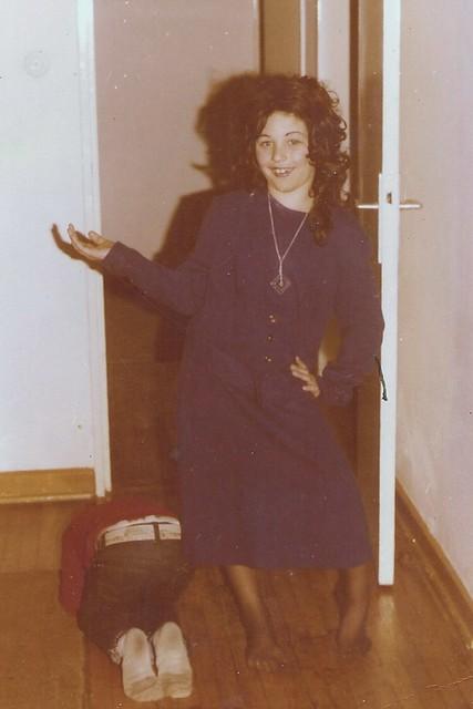 Me in Halloween Drag - circa 1976