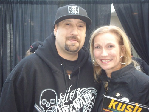 B Real of Cypress Hill with Cheryl Shuman, C.E.O. of Green Asset International Inc. by CherylShumanInc