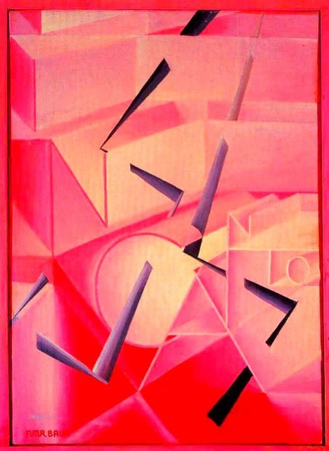 The Spell is Broken Giacomo Balla