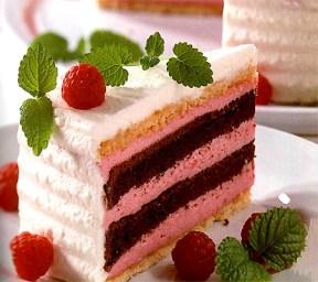 Festive Raspberry Cake