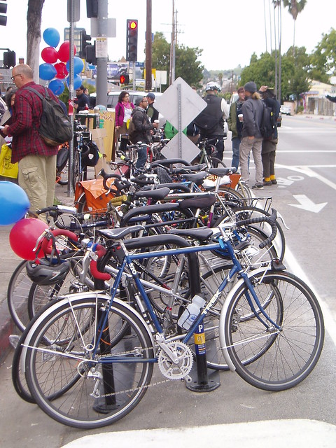 York Blvd Bike Corral