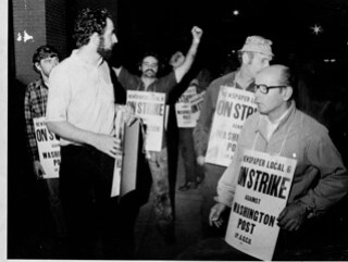 Post Busts Pressmen's Union 1975 # 1