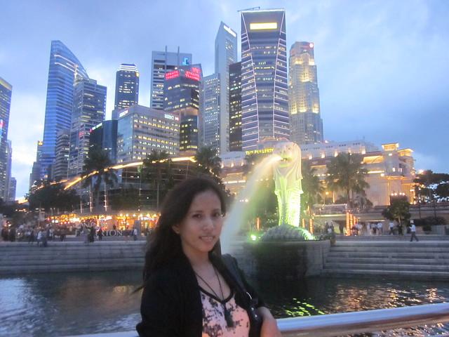 Singapore Marina Bay Merlion Statue