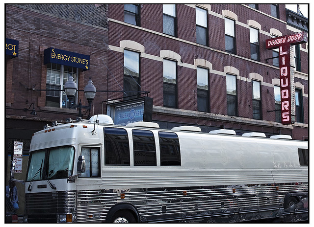 Tour Bus Double Door
