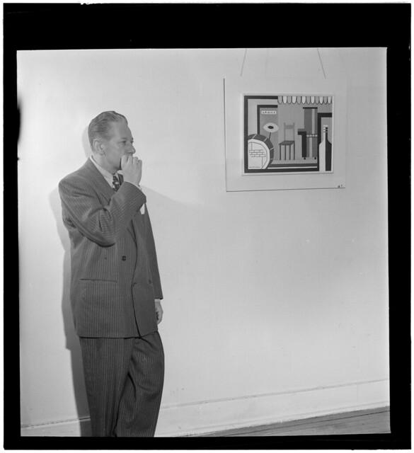 [Portrait of George Wettling, New York, N.Y., between 1946 and 1948] (LOC)