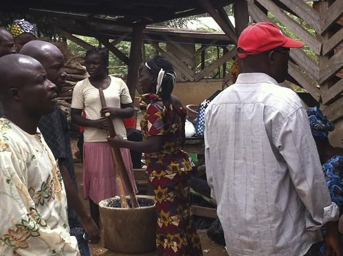 Hot Pounded Yam, Ewedusoup, Bush Meat - Akure Ondo State Nigeria by Jujufilms