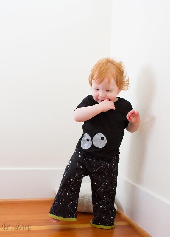 constellations pajamas