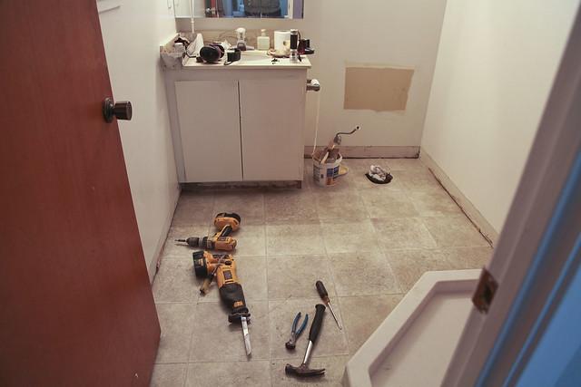 Bathroom Day 3