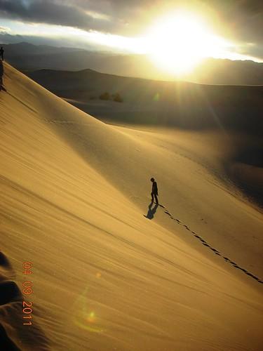dunas en Death Valley
