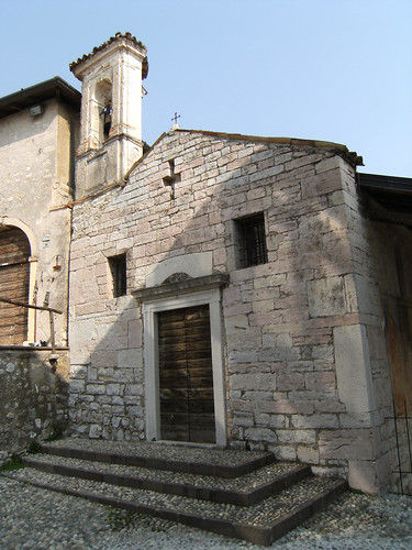 chiesa di san giacomo a calino - gargnano