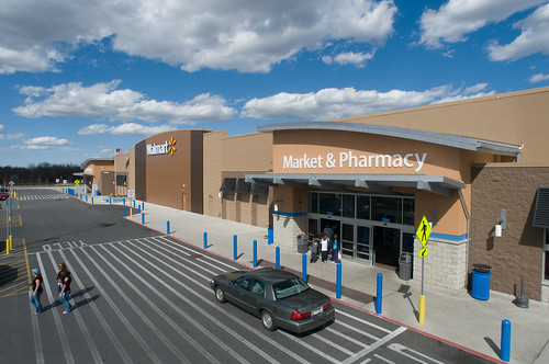 Walmart Shoppers in Gladstone, Missouri