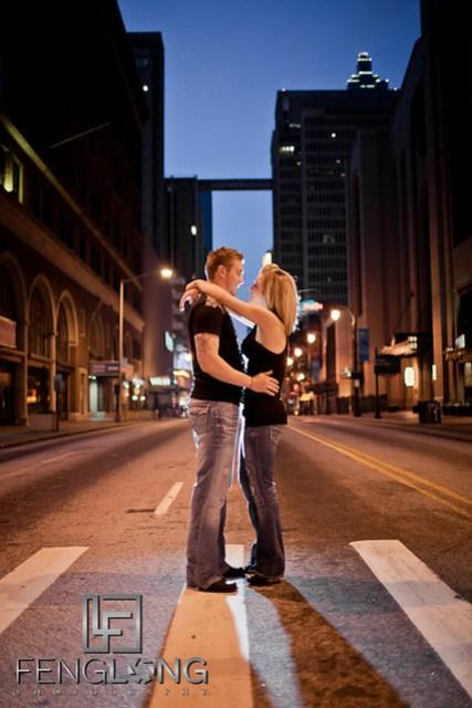 Rebekah + Lee Engaged | Downtown Atlanta Urban Session | Atlanta Wedding Photographer
