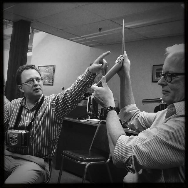 Pieter Franken and Ray Ozzie