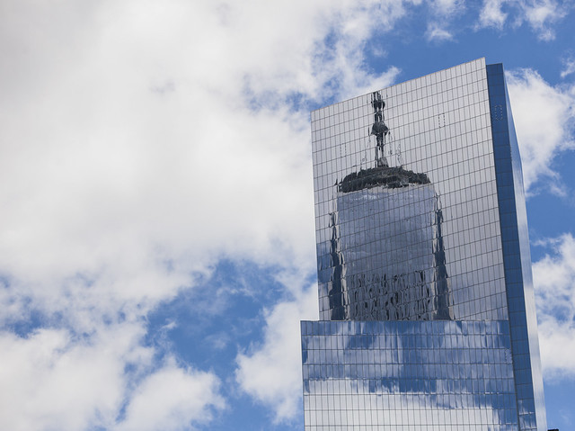 One World Trade reflected