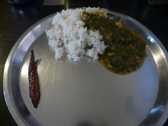 keerai (spinach) sambar