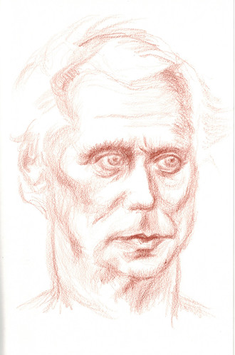 study of a young man of advanced years by husdant