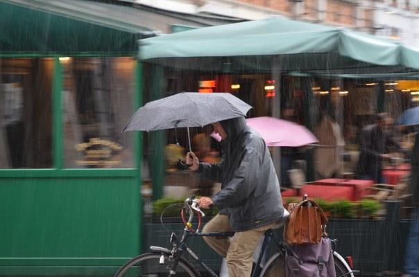 Umbrella bike