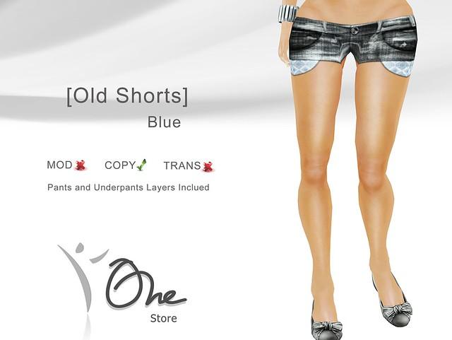 [Old Shorts] Blue