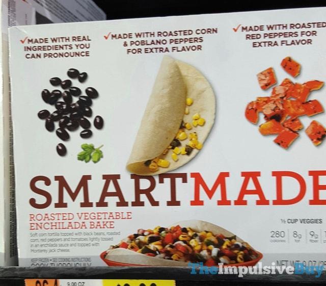 Smart Made Roasted Vegetable Enchilada Bake