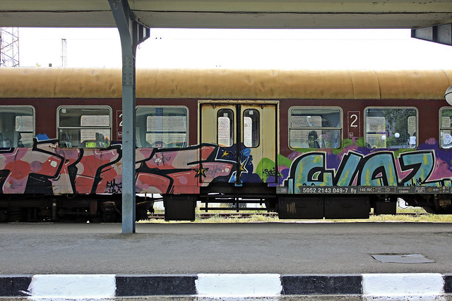 typical eastern europe train art