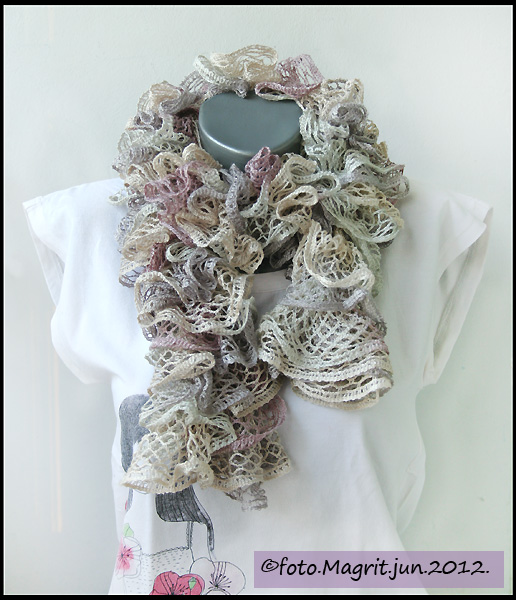marble curly shawl