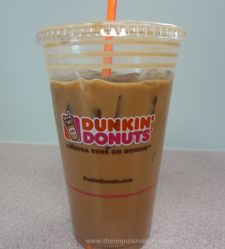 Dunkin' Donuts Jamocha Almond Fudge Iced Coffee