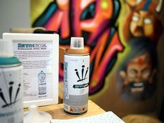 Spray paint, Viking Coffee, Kandahar Street