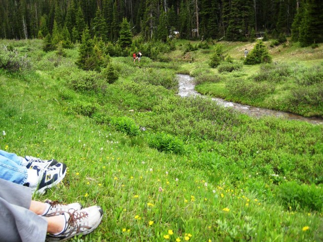 Lunch Stop, Rocky Mountain National Park