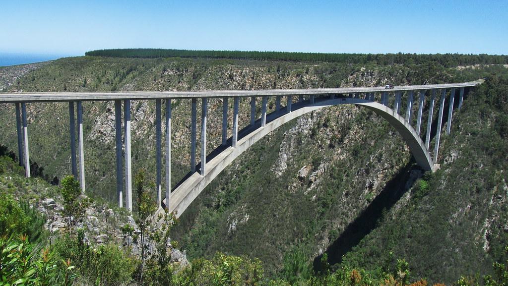 Bloukrans Bridge Bunjee Jump