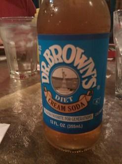 dr. brown's diet cream soda