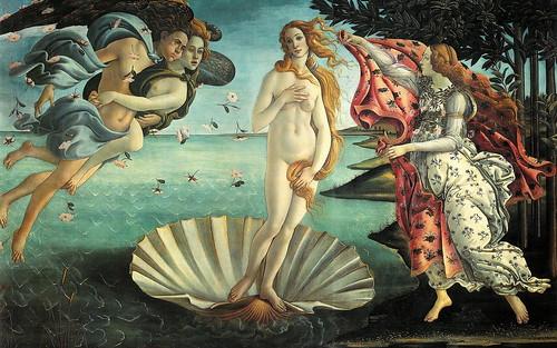 """Foto - Botticelli: """"Nascita di Venere"""" - by zipckr  flickr"""