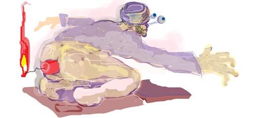 ASS BOMB by simonstudionyc
