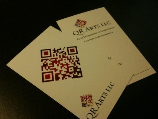 Qr code business card - 2010